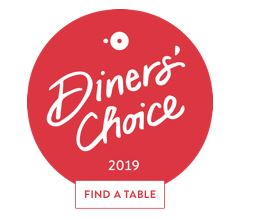 Diners' Choice 2019 - Find a Table badge